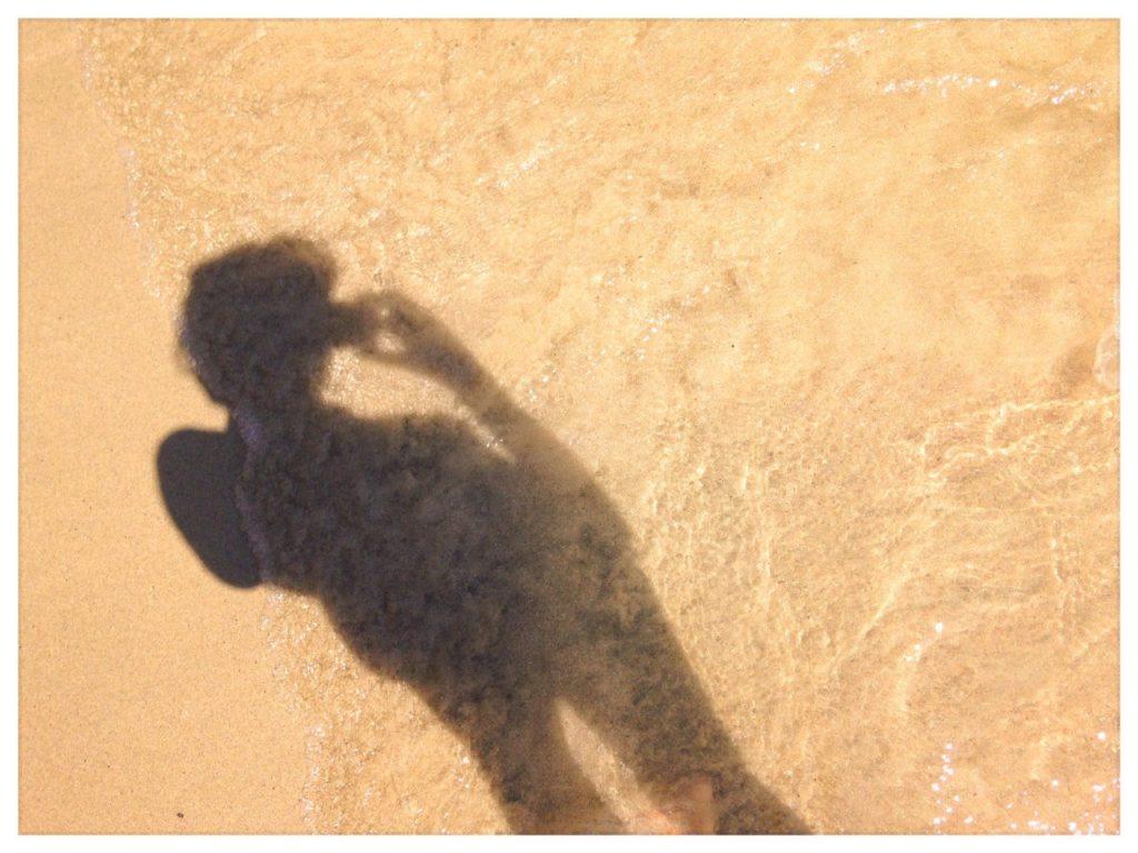 Σε παραλία της Κρήτης- Λήδα Ρουμάνη