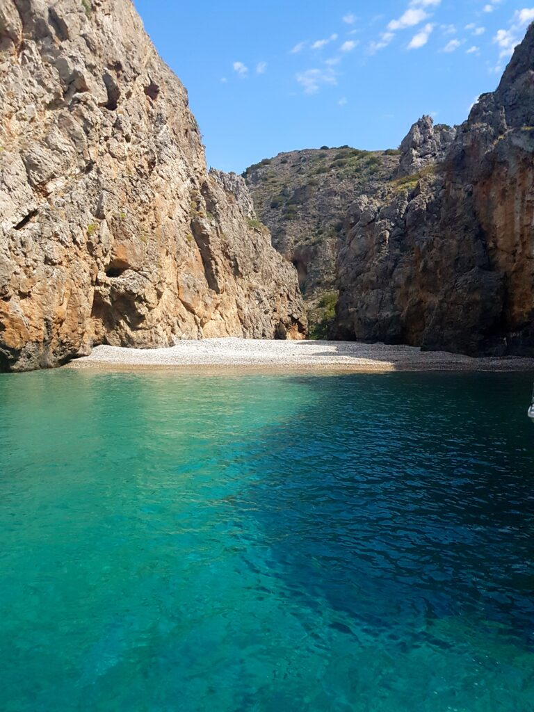 Κυριακουλού παραλία Κύθηρα