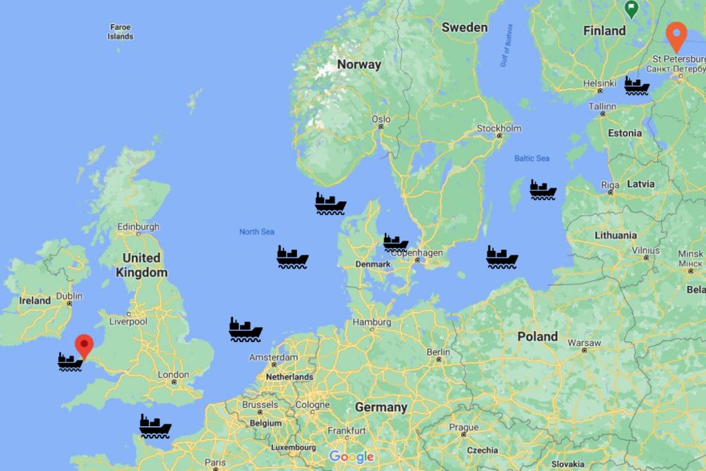 Εμπορικό ναυτικό ταξίδι 2