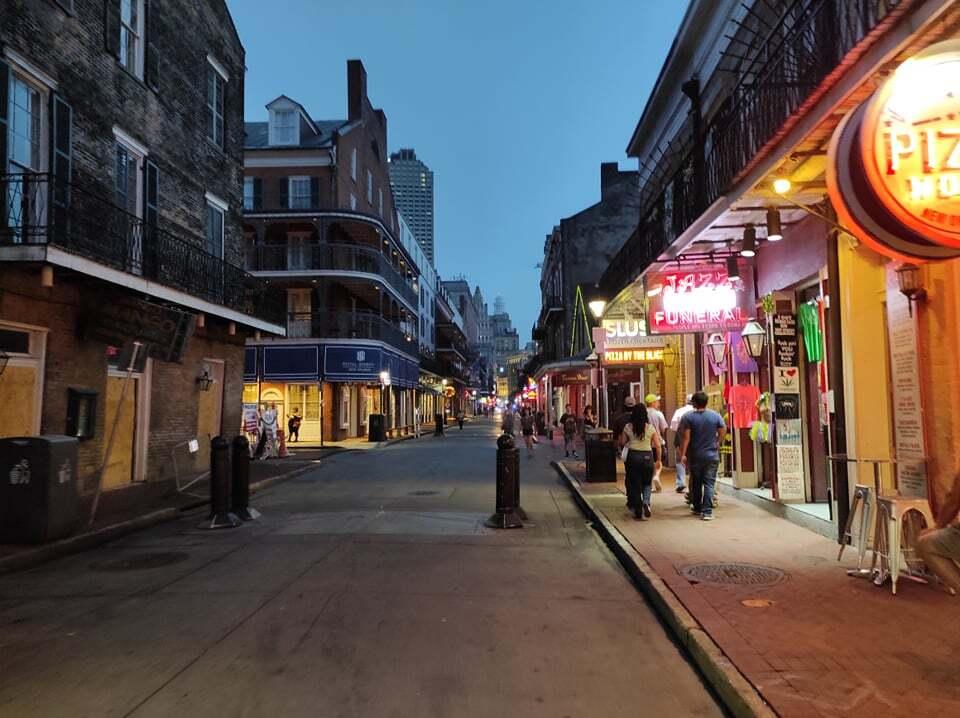 Borboun street Νέα Ορλεάνη