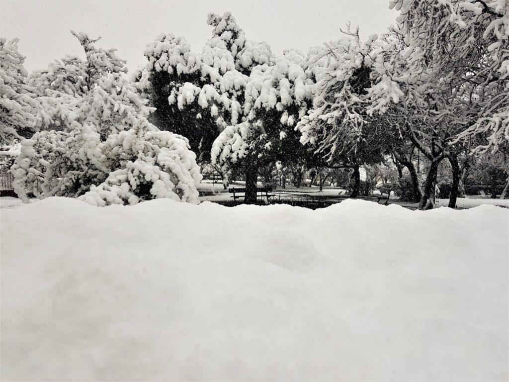Χιόνι στην Αθήνα